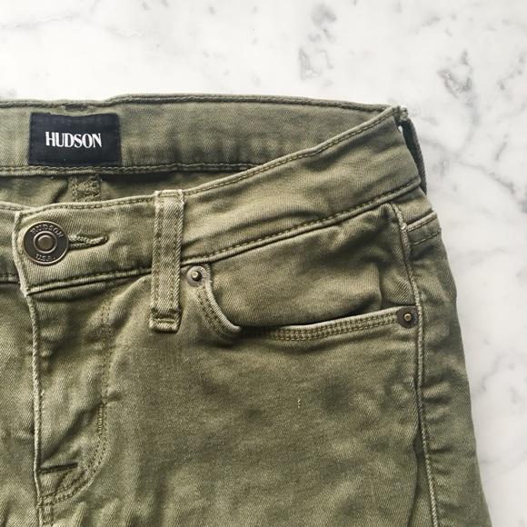 dfc7b300cfd Hudson Jeans Jeans   Hudson Krista Ankle Super Skinny Olive   Poshmark